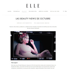 Elle Mexico Belleza Beauty News