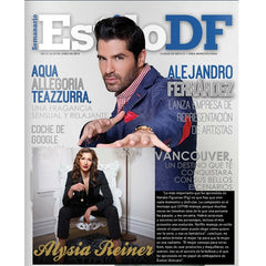 Estilo DF Features Alysia Reiner and Evolue