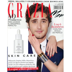Grazia for Men recommends Evolue's Exotic Oil