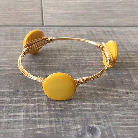 Golden Yellow Bangle