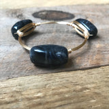 Black Acrylic Bangle