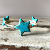 Turquoise Star Bangle