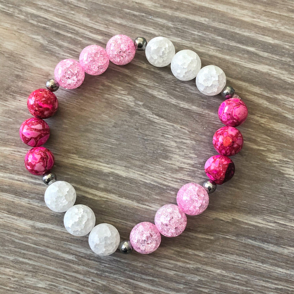 Pretty in Pink Bracelet Stack