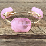 Creamy Pink Acrylic Bangle
