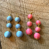 Baby Blue Bonbon Earrings