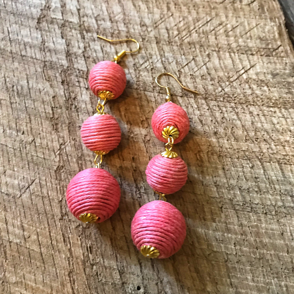 Pink Bonbon Earrings