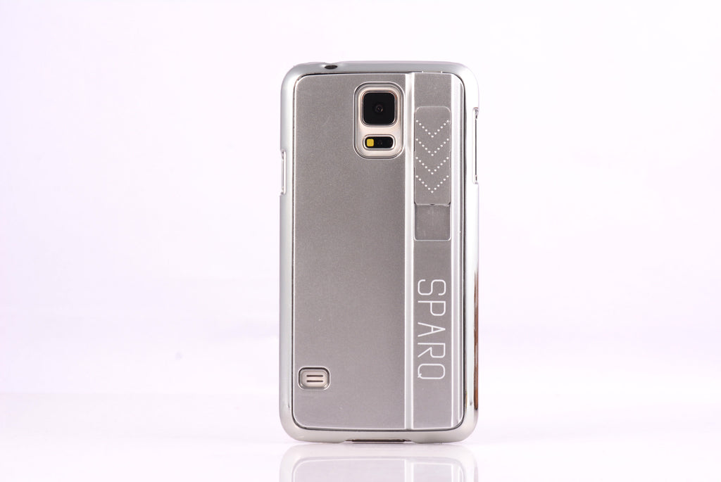 SPARQ LIGHTER CASE for Samsung S6 EDGE PLUS in SILVER