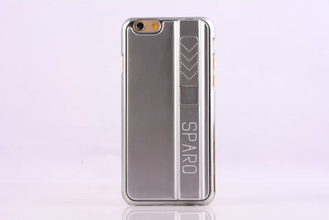 SPARQ LIGHTER CASE for iPhone 6 Plus/6S Plus in SILVER