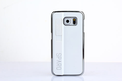 SPARQ LIGHTER CASE for Samsung S6 Edge in WHITE