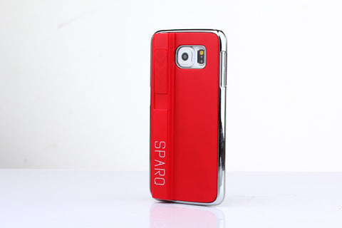 SPARQ LIGHTER CASE for Samsung S6 in RED