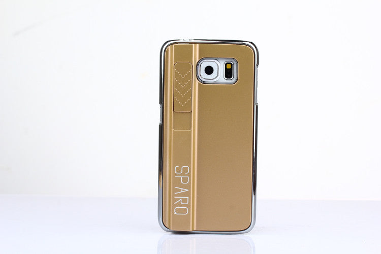 SPARQ LIGHTER CASE for Samsung S6 Edge in GOLD