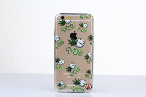 """ Ganja Green "" Case for iPhone 6/6S"