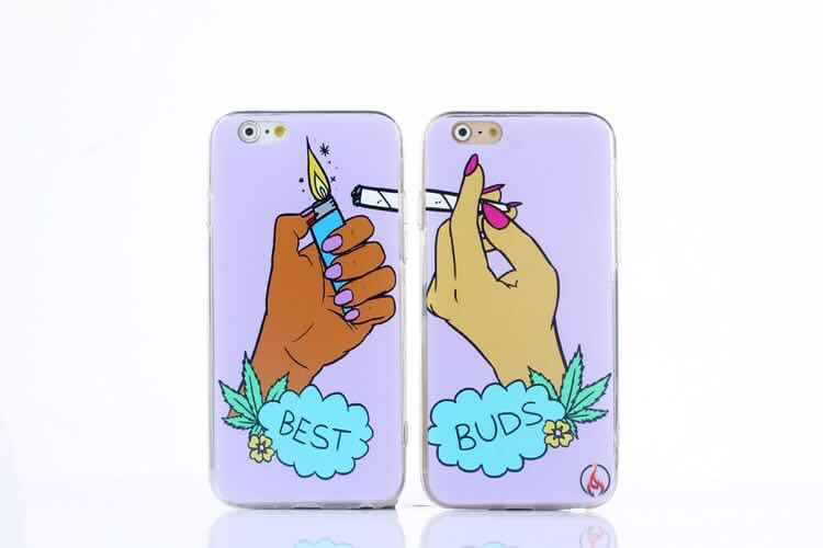 """Best Buds Lighter"" Best Friends Case (2 Cases)"