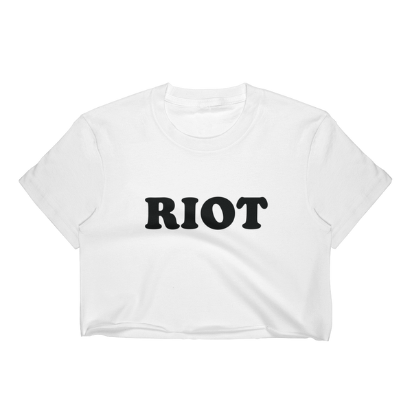 Riot Cropped Tee
