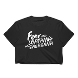 Fear and Loathing in Savasana Cropped Tee