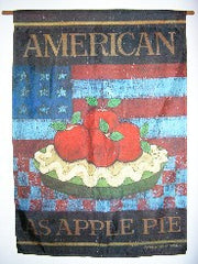 American Apple Pie- Fasadflagga