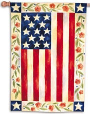 Folk Art Flag - Fasadflagga