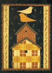 Quilted Birdhouse - Fasadflagga