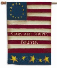 Stars and Stripes - Fasadflagga