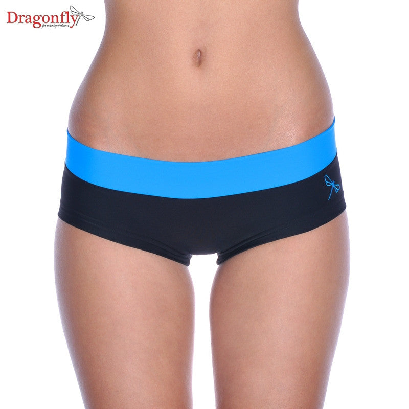 Hot Pants (Black/Azure)