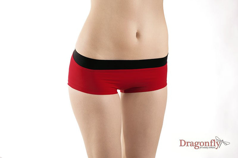 Hot Pants (Red/Black)