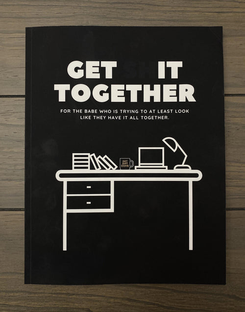 Get Shit Together Workbook - Metal Marvels - Bold mantras for bold women.