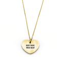 Eff You See Kay Necklace - Metal Marvels - Bold mantras for bold women.