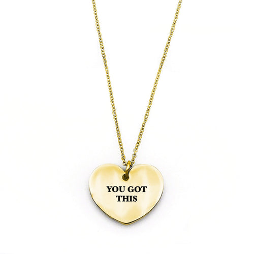 You Got This Necklace - Metal Marvels - Bold mantras for bold women.
