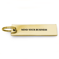 Mind Your Business Keychain - Metal Marvels - Bold mantras for bold women.