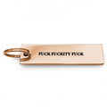 Fuck Fuckity Fuck Keychain - Metal Marvels - Bold mantras for bold women.