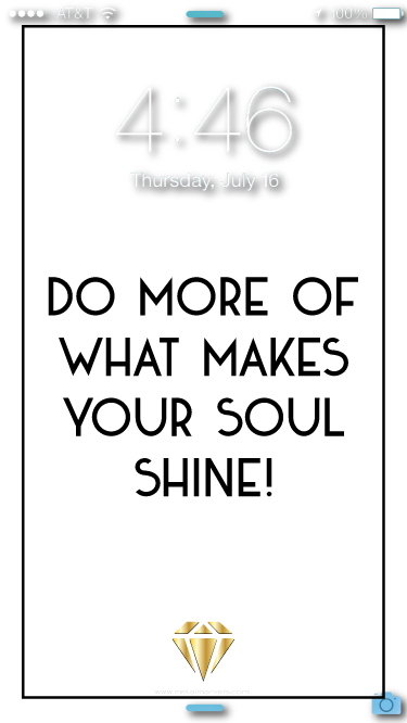What Makes Your Soul Shine Wallpaper - Metal Marvels - Bold mantras for bold women.