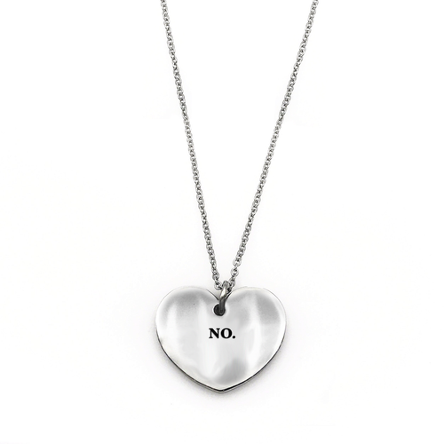No. Necklace - Metal Marvels - Bold mantras for bold women.