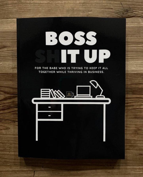 Boss Shit Up Workbook - Metal Marvels - Bold mantras for bold women.