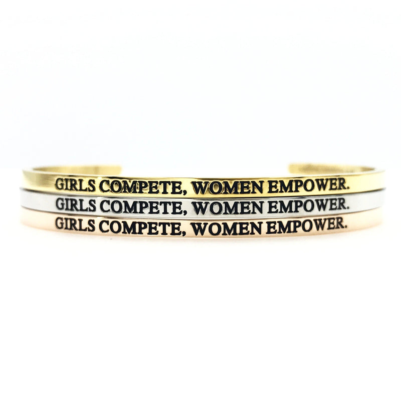 Girls Compete, Women Empower Bangle