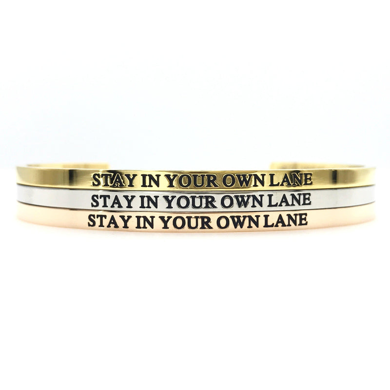 Stay In Your Own Lane Bangle
