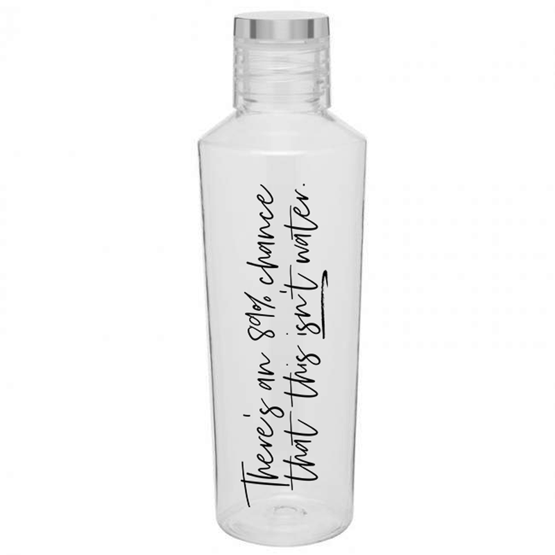 This Isn't Water 27 oz Water Bottle - Metal Marvels - Bold mantras for bold women.