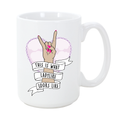 This is What Ladylike Looks Like 15 oz Mug - Metal Marvels - Bold mantras for bold women.