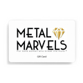 Gift card - Metal Marvels - Bold mantras for bold women.