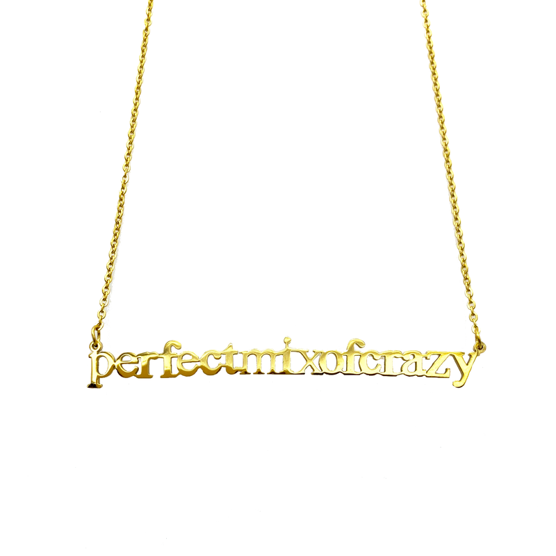Perfect Mix of Crazy Cutout Necklace - Metal Marvels - Bold mantras for bold women.