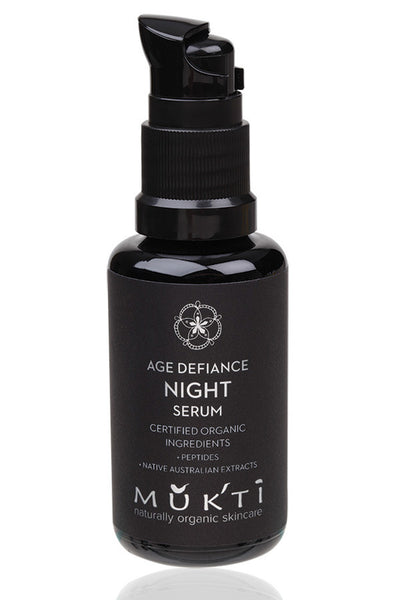 Mukti Organics - Age Defiance Night Serum 30 ml