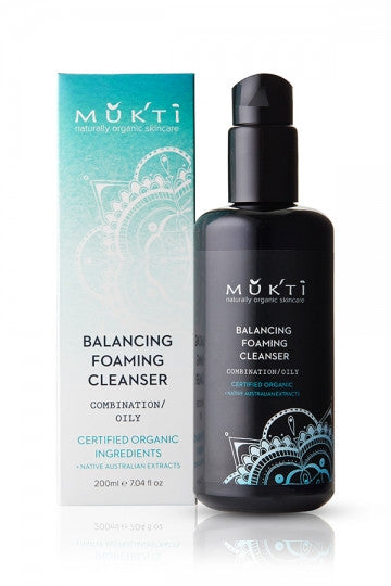Mukti Organics - Balancing Foaming Cleanser 200 ml