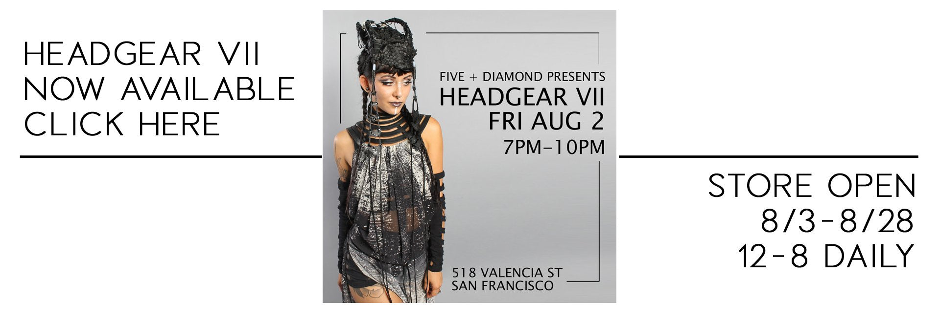Five and Diamond Pre-Playa Loft Sale - Independent Designer Shopping Event to Prepare for the Playa