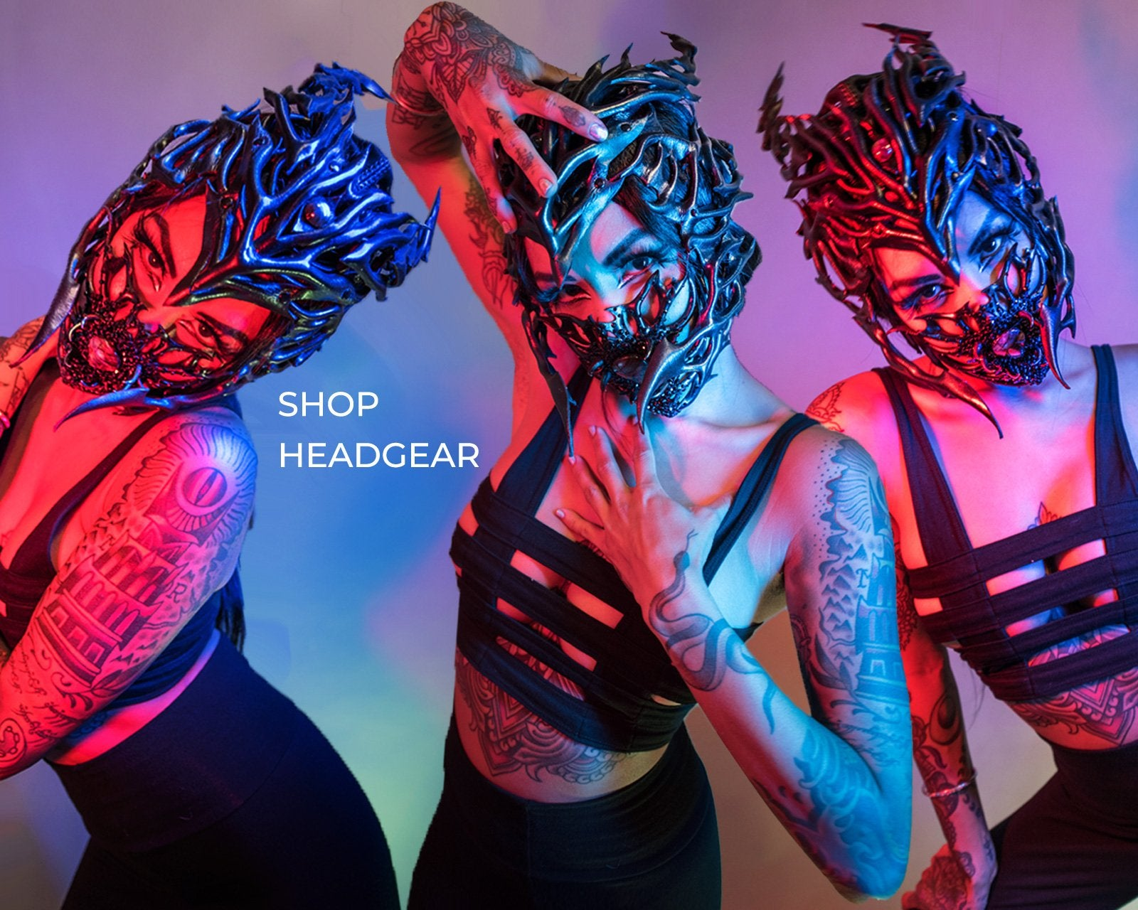 Shop Headgear Art Show - our 8th annual event, live streamed from San Francisco