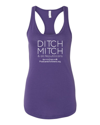 DITCH MITCH - PTV Women's Purple Tank