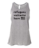 Refugees Flowy Ladies Tank