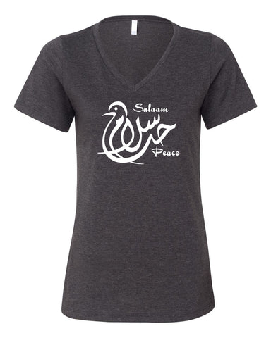 Salaam Relaxed Ladies V neck