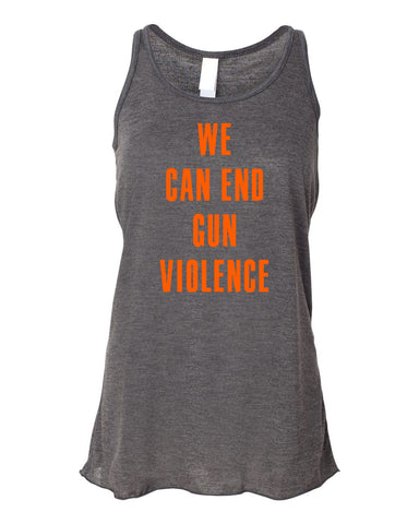 We Can End Flowy Ladies Tank