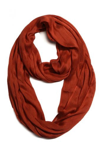 Crinkle Infinity Scarf - Lorraine's for Women