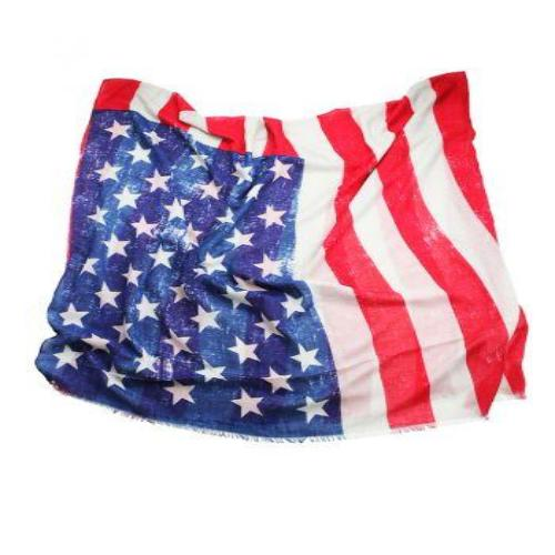 American Flag Scarf - Lorraine's for Women
