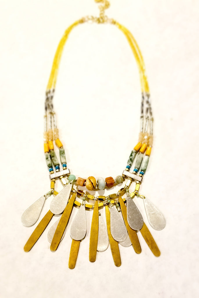 Nakamol Nina Turquoise Mix Necklace - Lorraine's for Women